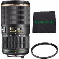 Pentax SMCP-DA 50-135mm f/2.8 ED (IF) SDM Autofocus Lens + UV Filter + MicroFiber Cloth 6AVE Bundle