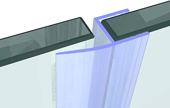 Cristal Junta 10 mm cristal. Longitud 60 cm hasta 200 cm. Junta Junta para puerta de