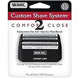 Wahl Custom Shave, Dynaflex & ID Comfort Close Foil Screen
