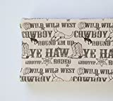 Changing Pad Cover - Brown Cowboy