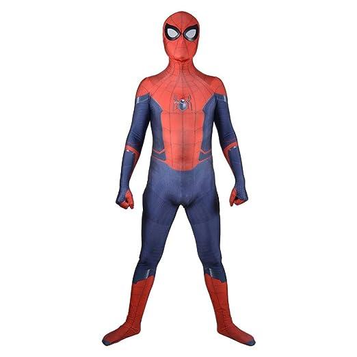 AKCHIUY Disfraz Infantil De Spider-Man,Superhéroe Adultos Traje ...