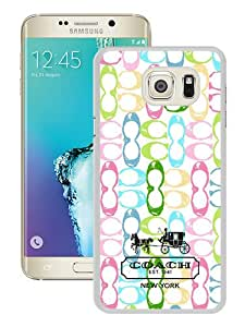 Fashionable Samsung Galaxy Note 5 Case ,Unique And Popular Designed Case With Coach 14 White Samsung Galaxy Note 5 Great Quality Screen Case
