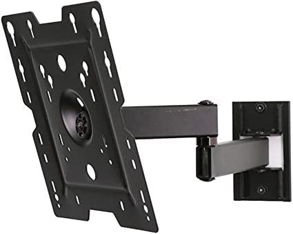 Black Peerless Full-Motion Plus Wall Mount 22-40 Inches LCD