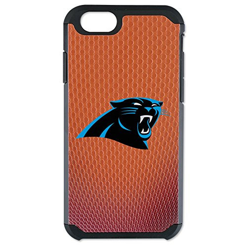 (NFL Carolina Panthers Classic Football Pebble Grain Feel iPhone 6 Case, Brown)