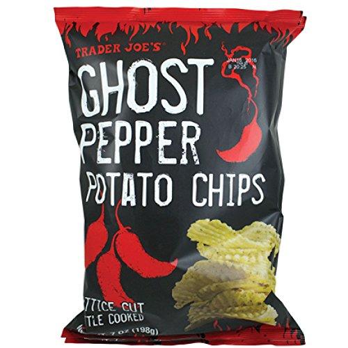 Trader Joe's Ghost Pepper Potato Chips - 7 oz. bag