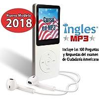 Curso de INGLES MP3 + Curso CIUDADANIA AMERICANA 2018 (Incluye Libro Guia y Fichas de Estudio)