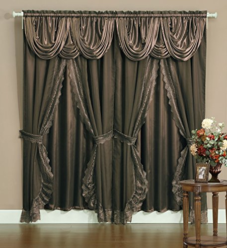 (Everydayspecial Victorian Style Bombay Curtain Set 120