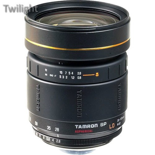 Tamron Zoom Wide Angle-Telephoto SP 28-105mm f/2.8 LD Aspherical IF Manual Focus Adaptall Lens - Requires Adaptall (Manual Focus Adaptall Lens)