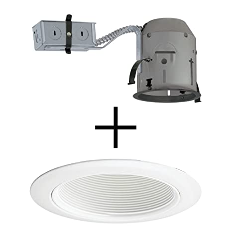 juno lighting tc1r 14w wh combo 4 inch tc rated remodel recessed