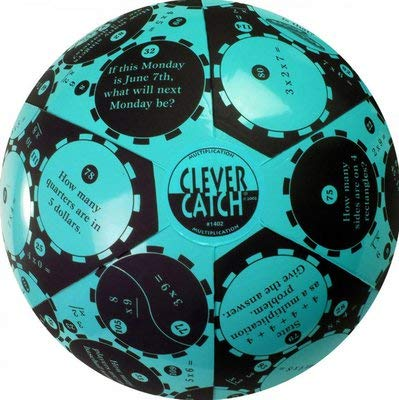 SR-1382 - Description : Algebra 1 - Clever Catch Math Education Balls - Each 1 Clever Catch Ball