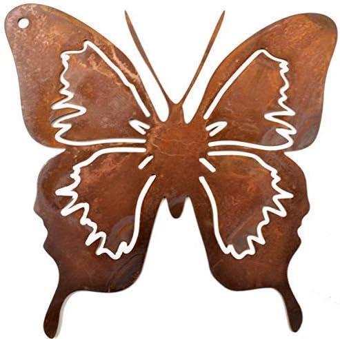 Rostikal Schmetterling Zum Hangen Rost Deko Anhanger