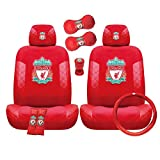 Liverpool Football Club Car Accessory Set (10 items, latest collection)