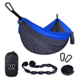 Why do you choose Gold Armour? Hammock: Our camping hammock is a double hammock 320 x 200cm (125 x 79 in) Extra Large (XL) rather than single hammock. Compare to the other camping hammocks, it's not only larger but also feels soft and comfortable. Tr...