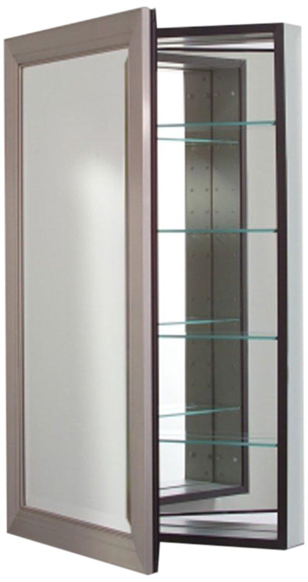 Amazoncom Robern Cb Mp24d4mdbn Metallique Medicine Cabinet