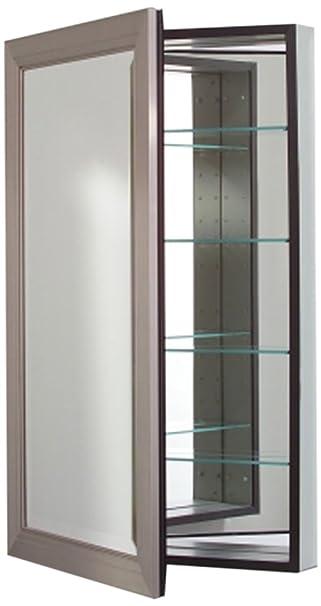 Robern CB MP24D4MDBN Metallique Medicine Cabinet, Brushed Nickel