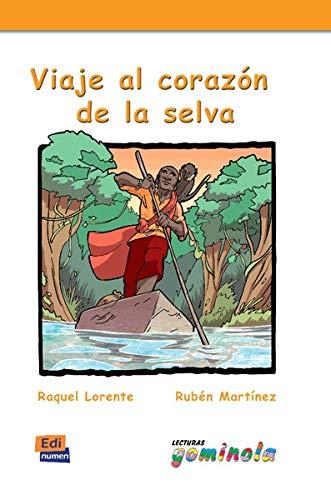 Viaje al corazón de la selva - Libro+CD Lecturas Gominola: Amazon.es: Tena Tena, Pedro, Lorente Navarro, Raquel, Martínez Muñiz, Rubén: Libros