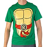 Teenage Mutant Ninja Turtles TMNT Mens Costume T-Shirt (Large, Raphael)