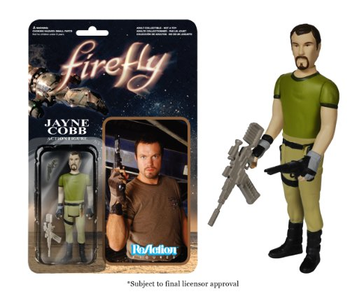 Funko Firefly Jayne Cobb ReAction Figure