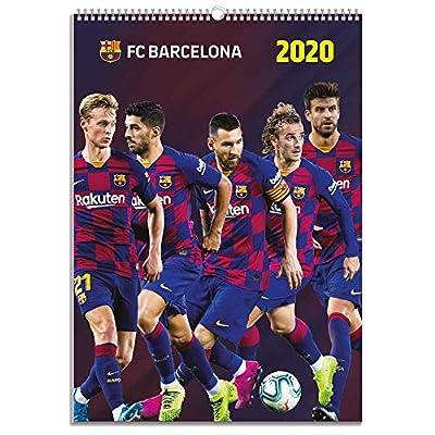 Barcelona 2020 Calendar - Official A3 Month to View Wall Calendar