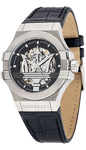 Maserati potenza R8821108001 Mens automatic-self-wind watch