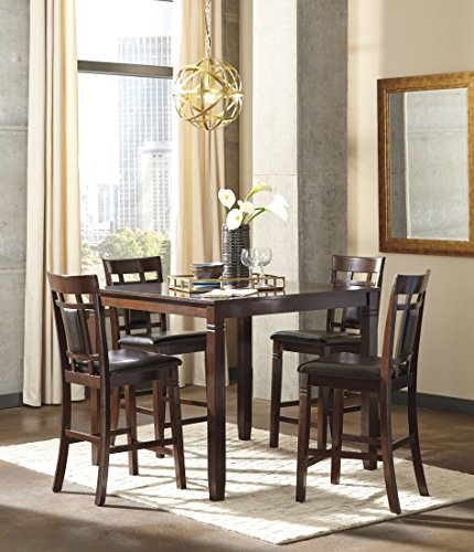 Signature Design by Ashley D384-223 Bennox Dining Table Set, Brown