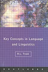 Language and Linguistics: The Key Concepts (Routledge Key Guides) Paperback
