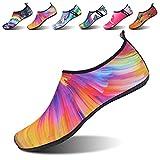 NeuFashion VIFUUR Water Sports Shoes Barefoot Quick-Dry Aqua Yoga Socks Slip-On For Men Women Kids