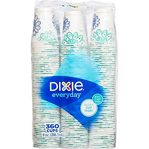 (Dixie Cold 9oz Cup, 360 Count)
