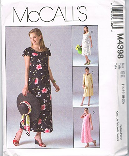- McCall's M4398 Maternity Dresses