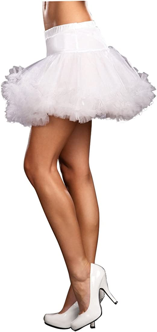 Dreamgirl 4582 Womens Ursula Multi Layer Tulle Petticoat