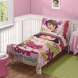 Dora Loves Pets Toddler 4 Piece Bedding Set
