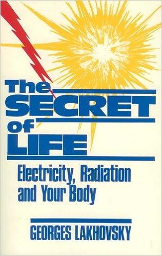 Secret of Life: Electricity Radiation & Your Body: Georges Lakhovsky
