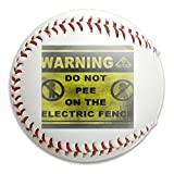 Nvthenpiaoliang Warning Pee Electric Defend Soft Standard Practice Ball Baseball Game Ball