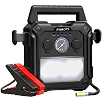 Suaoki U29 2000A Peak Portable Car Jump Starter Up to 10.0L Gas or 8.0L Diesel (Black)