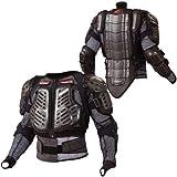 コミネ(Komine) 胸部プロテクター X-セーフティジャケット ブラック L 04-677 SK-677