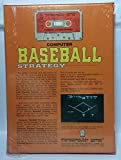 Computer Baseball Strategy by Avalon Hill for Atari 400/800 Apple II+ TRS-80 CMB PET 2001 Cassette