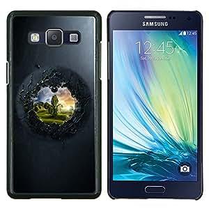 For Samsung Galaxy A5 A5000 Case , Ver Para El Otro Lado- Diseño Patrón Teléfono Caso Cubierta Case Bumper Duro Protección Case Cover Funda