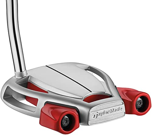 TaylorMade Men s Spider Tour Platnm Putter, Comes with 2 Balls