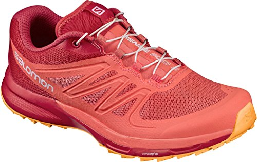 Naranja poppy Trail Running Mujer Red Para Pro Salomon W living De bright Sense Coral 2 Marigold Zapatillas xzvw0YOqw