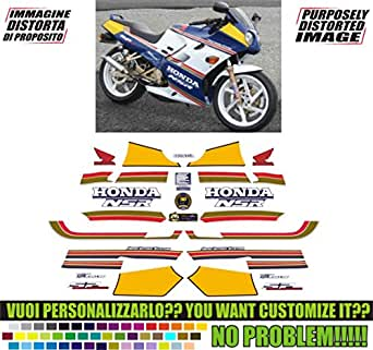 Kit adesivi decal stikers honda nsr r sport production (ability to customize the colors)