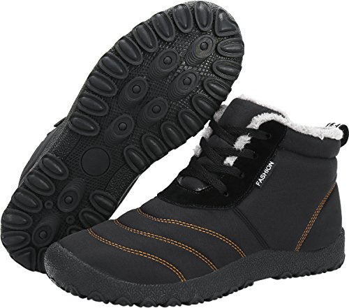 Stringati Calda Stivaletti Impermeabile Unisex Scarpe Imbottitura Stivali con da Invernali Gaatpot Neve CH4q4R