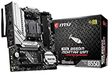 MSI mag B550M Mortar WiFi - Placa Base Arsenal Gaming (AMD AM4 DDR4 M.2 USB 3.2 Gen 2 HDMI Micro ATX)