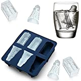 Joyoldelf Doctor Who Silicone Ice Cube Tray and Chocolate,Candy,Cookies Mold Maker - Tardis and Daleks