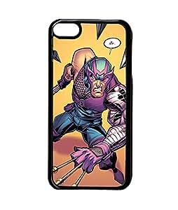 Marvel Superhero Hawkeye iPod Touch 6th Funda Case Impact Resistant Plastic Phone Funda Case Customized For Friends