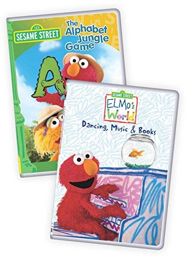 Sesame Street: Elmo's World: Dancing, Music & Books/The Alphabet Jungle Game ()