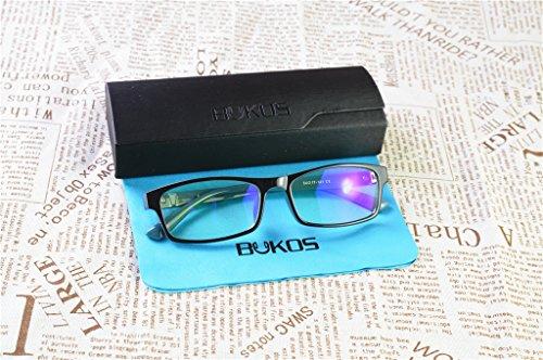 13d06fe1c65 Blue Light Blocking Glasses by Bukos - Unisex - Men or Women - FDA ...