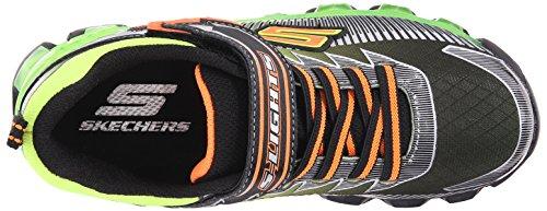 Skechers Flashpod- Scoria - Zapatillas de deporte Niños Negro (Negro (BKLM))