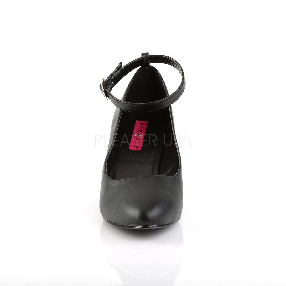 Pink Label Big Size Pumps Divine 420 Mattschwarz Übergröße