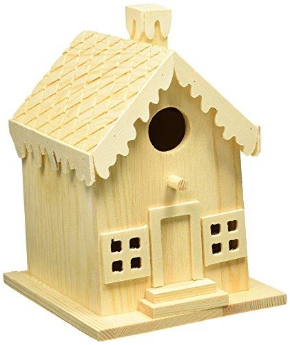 Darice Wood Gingerbread House ()