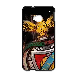 Unique bald eagle sign Cell Phone Case for HTC One M7 by mcsharks